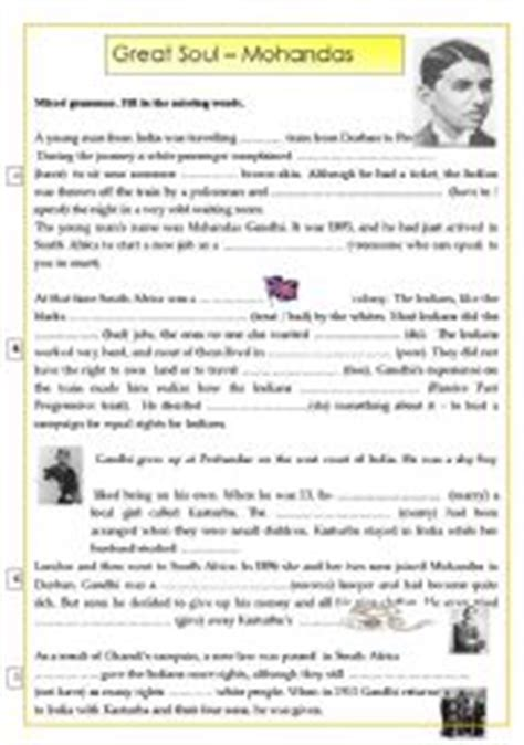 biography gandhi ks2 english teaching worksheets gandhi