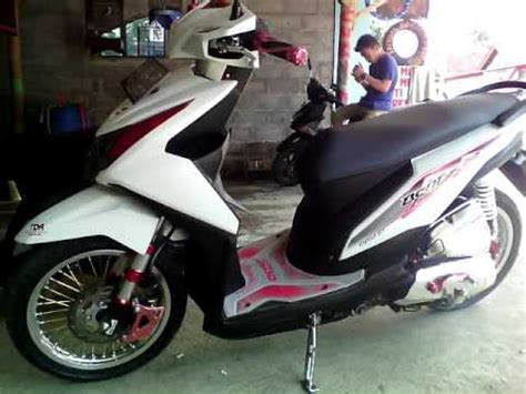 Shock Beat Fi modifikasi honda beat fi terkeren modif honda beat fi di