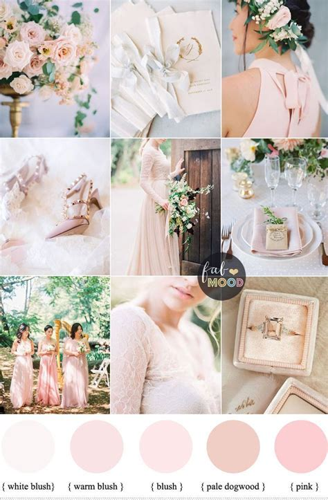 Blush pink wedding theme { 37 Pretty blush pink color
