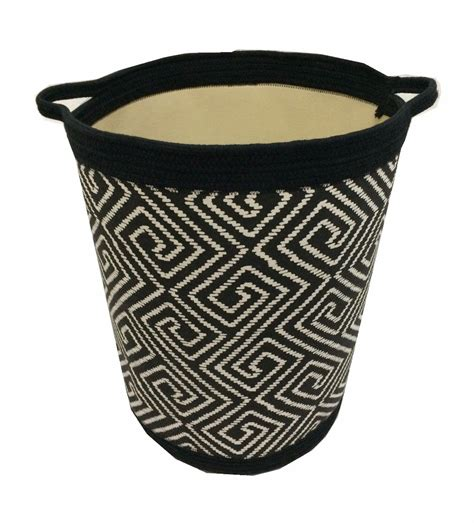 shape printed linen laundry basket buy laundry