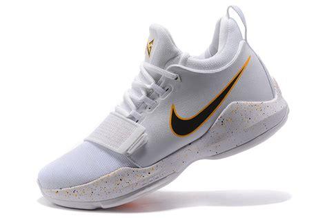 Pg1 Whiteblack advanced paul george nike pg 1 white black s casual basketball shoes shoesmass