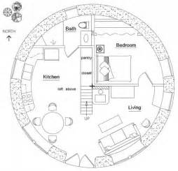 Grain Bin House Floor Plans Hobbit House Plan