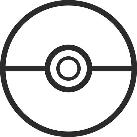 free vector graphic pokemon pokeball pokemon go free