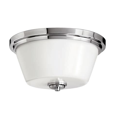 Avon Flush Mount Bathroom Ceiling Light by Elstead Hinkley Avon Flush Mount Bathroom Ceiling Light Lichfield Lighting