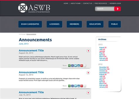 invitation designing website association of va social workers download pdf