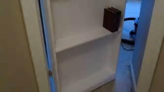 Replace A Closet Door With A Bookcase Door Secret Bookcase Door Youtube