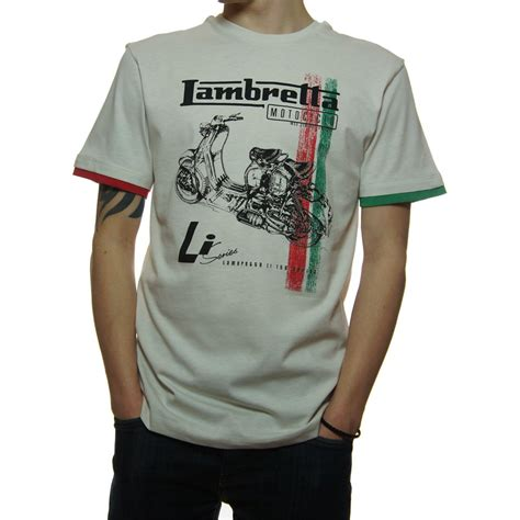 T Shirt Lambretta 5 by Buy Lambretta T Shirt Skeleton Print Li Series Scooter