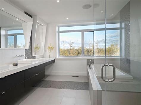 Modern Bathroom Edmonton Bright Contemporary Home In Edmonton Canada