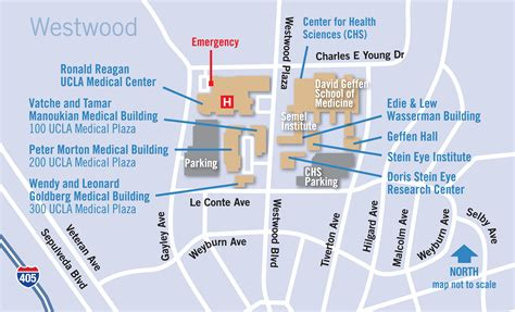Auto Shop Floor Plans Maps And Directions For Ronald Reagan Ucla Medical Center