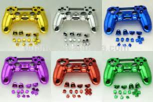 how to change color on ps4 controller new shell for ps4 controller chrome purple buy