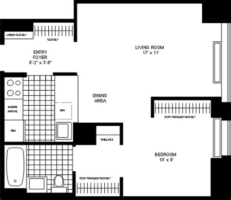 1 bedroom apartment manhattan full image for studio 500 west 56th street rentals the westport apartments