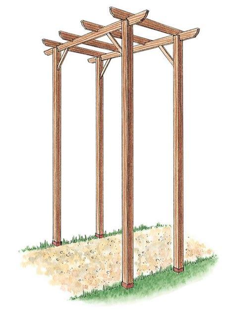 how to build trellis how to build a freestanding wooden pergola kit free