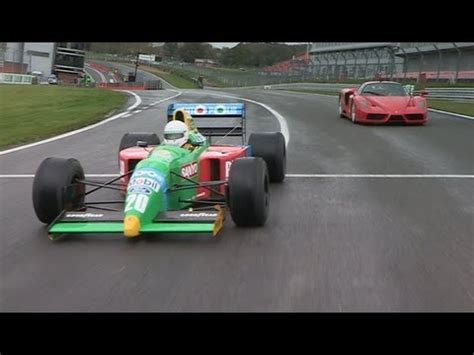Ferrari Enzo Race Car by Ferrari Enzo F1 Benetton Racing Car On Track Youtube