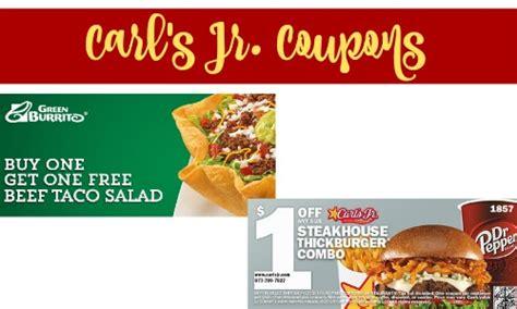 Carl S Jr Printable Coupons