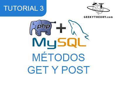 tutorial php get tutorial php mysql 3 m 233 todos get y post