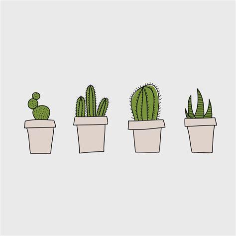 cactus doodle doodles emily mulvey design