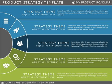 My Product Roadmap Product Strategy Template