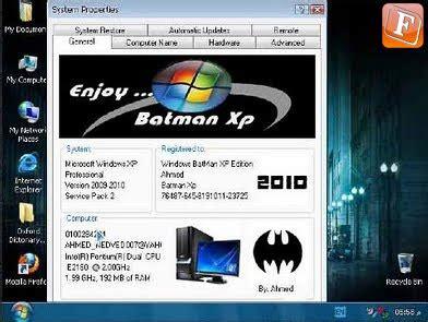 membuat bootable usb windows xp sp3 windows batman xp sp 3 edition