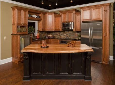 Honey Oak Kitchen Cabinets by Honey Oak Kitchen Cabinets The Low End Option Classic
