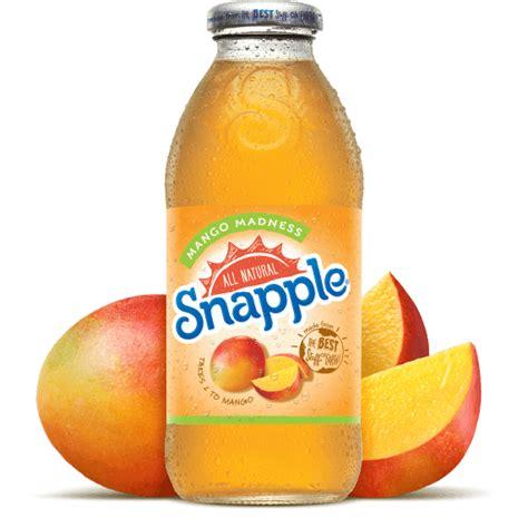 Madness Lemon Cola snapple mango madness juice drink southern distributing