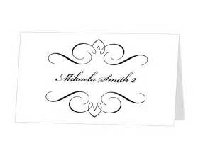 Template Place Cards Place Card Template Downloadtarget