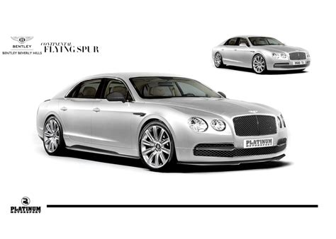 custom bentley flying spur bentley beverly hills platinum motorsport announce