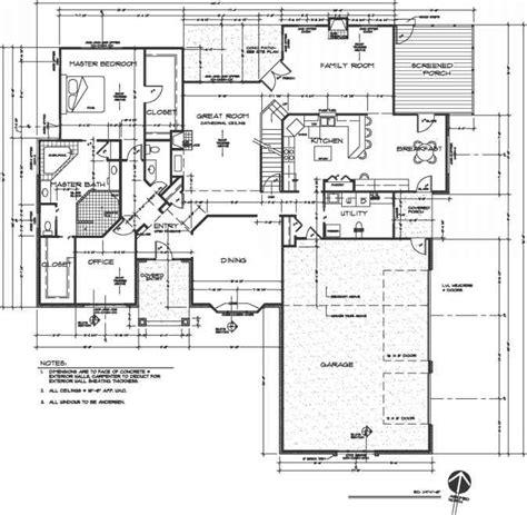 drafting floor plans drafting standards construction drawings northern