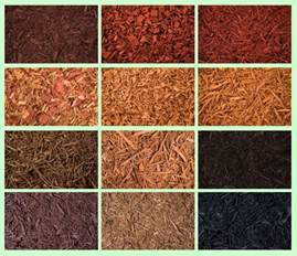 dyed mulch colored mulch black brown cj mulch