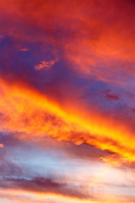 beautiful sunset clouds  stock photo public domain