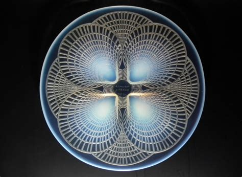 the opalescent books ren 233 lalique opalescent glass coquilles no2 plate