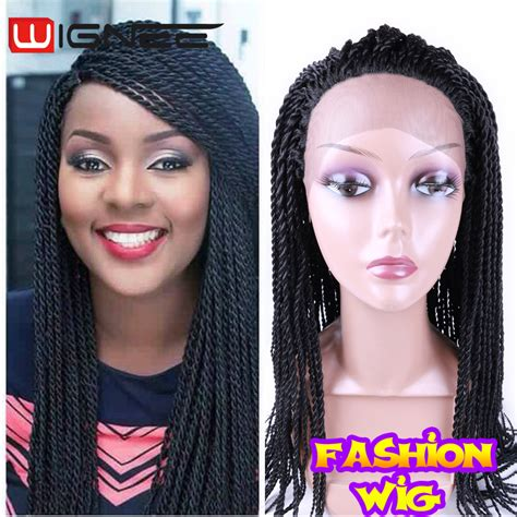 crochet hair wigs for sale aliexpress com buy fashion synthetic hand braided wig