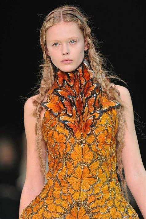Mcqueen Butterfly Gown by Mcqueen Butterflies Effie Trinket Dress My