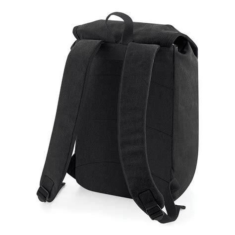 personalised vintage college style rucksack by