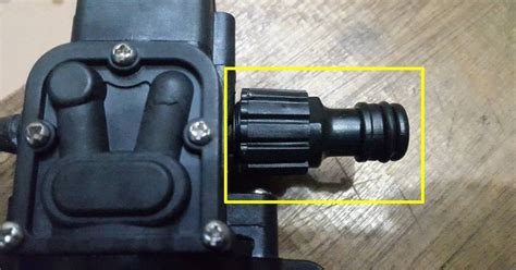 Konektor Pompa Air Mini konektor selang ke pompa dc 12 v awet dan tahan lama
