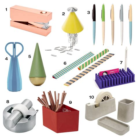 office desk supplies list 10 modern office supplies to up your desk design milk