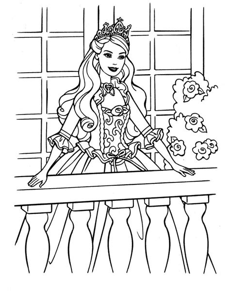 Barbie Princess And The Pauper Coloring Pages Az Princess And The Pauper Free Coloring Sheets