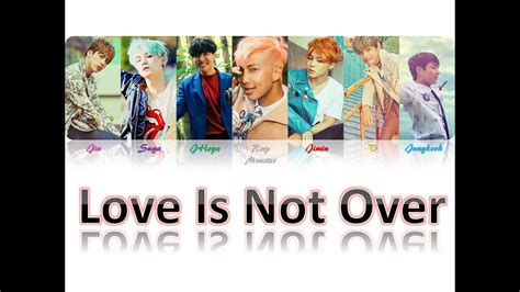 download mp3 bts love is not over love is not over bts han rom br color coded lyrics