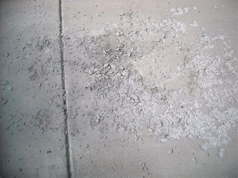 Spalling Concrete Spalding   Cement Spall Repair Methods