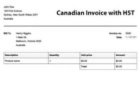 invoice template canada canadian invoice template free to do list