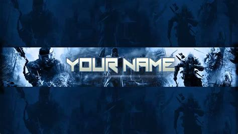 20 gaming banner template free psd images youtube banner