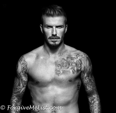 david beckham the tattoo addicted top player tattoodo