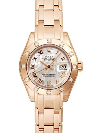 opulencia en una persona ladies datejust rolex pearlmaster replicas relojes