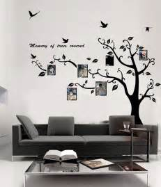 Tree Sticker Wall Decor memory of tree covered photo frame wall sticker