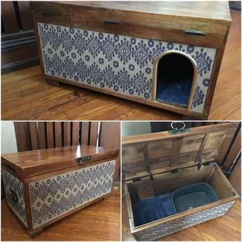 wooden cat toilet litterbox cabinet best 25 litter boxes ideas on litter