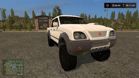 mitsubishi truck mod for farming simulator 2017 up