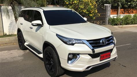 Exterior Home Design Photos Kerala by Toyota Fortuner Muscles Up With Fiar Design Body Kit