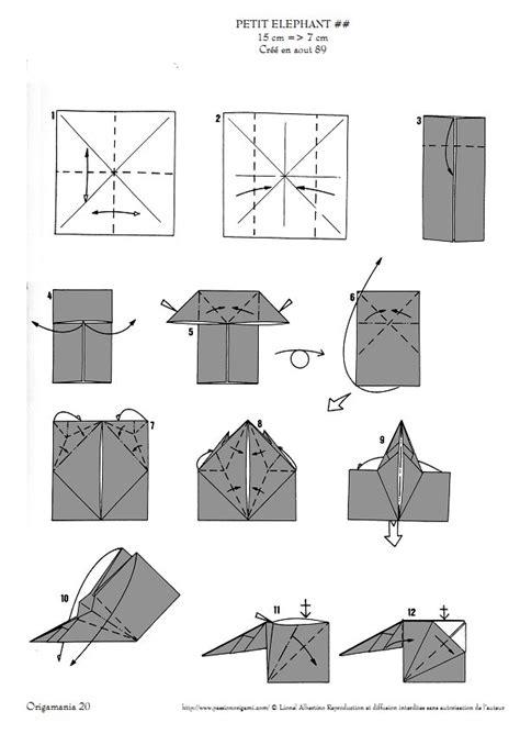Origami Elephant Pdf - elephants lionel albertino