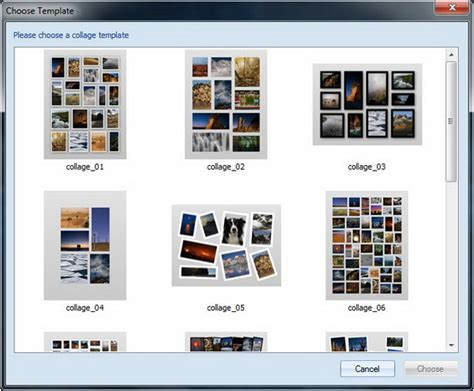 Make Photo Collages On Mac And Windows With Collageit Microsoft Collage Template