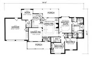 The House Designers House Plans The Corner 8181 3 Bedrooms And 2 5 Baths The House Designers