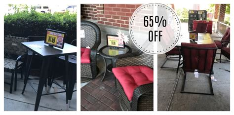 harris teeter patio furniture and fire pits 65 off